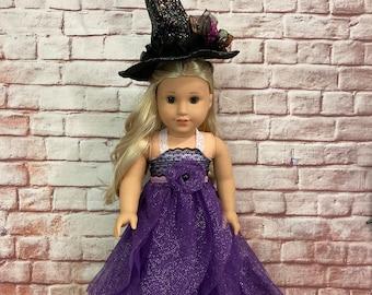 American Girl Custom OOAK Fancy Wicked Witch Costume