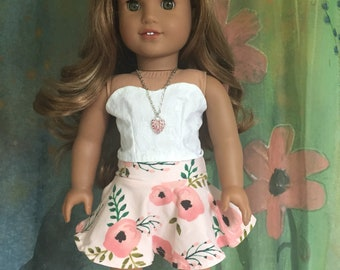 American Girl Twirly Skirt Outfit