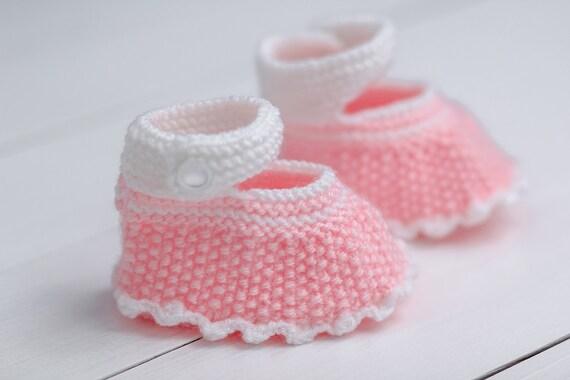 Babyschuhe stricken Booties Baby Kleinkind Schuhe neugeborenen