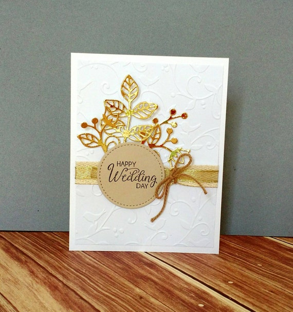 Stampin Up Wedding Cards | Wedding Card Wedding Gift Rustic Wedding Country Wedding Etsy