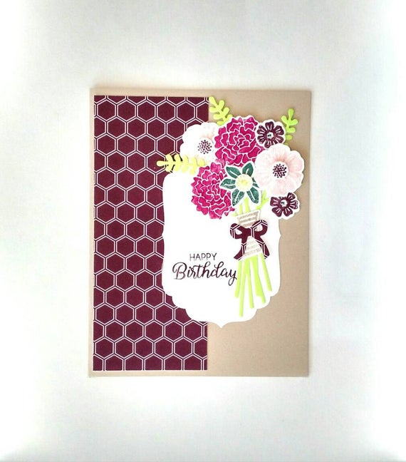 Birthday Card Birthday Gift Birthday Card Her Girlfriend Etsy
