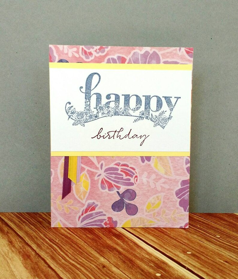 Birthday Card Gift Mom Girl