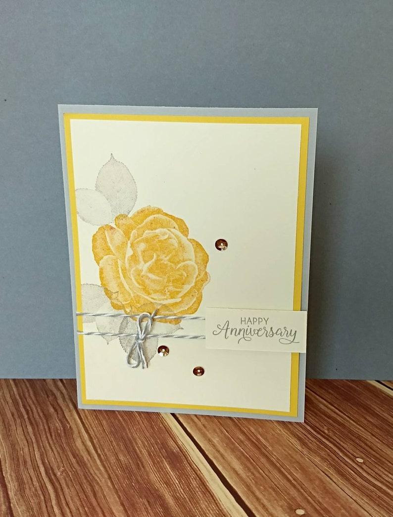 Anniversary Card Wedding Anniversary Anniversary Gift Etsy