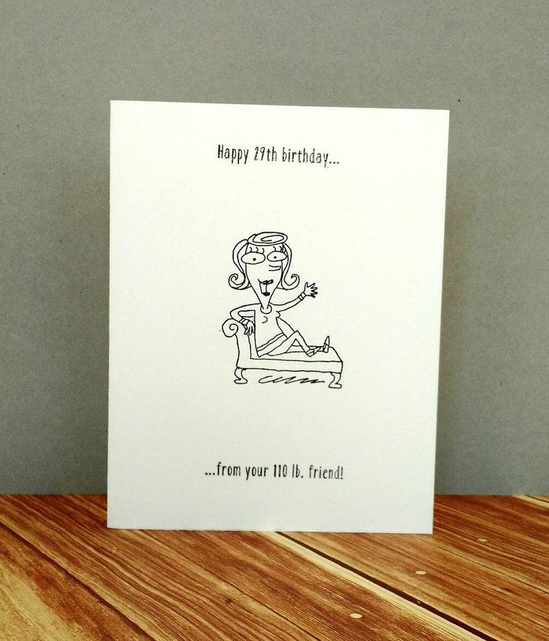 Birthday Card Funny Girl 30th