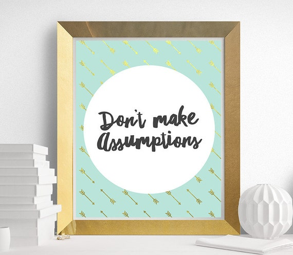 The Four Agreements Dont Make Assumptions 4 Agreements Etsy