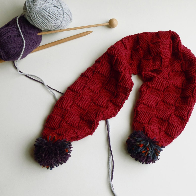 cccca302e80 SALE 20%! Wool toddler scarf,hand-knit merino wool baby scarf,red wool baby  scarf,hand knit baby scarf,baby and toddler scarf,baby accessory