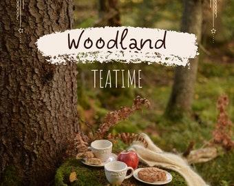 """PDF cookbook """"Woodland Teatime"""""""