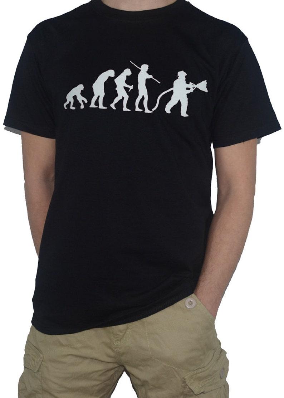 d37cf3929 Evolution of Fireman T-Shirt Ape to Man Funny | Etsy