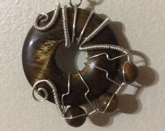 Tigerseye pendant