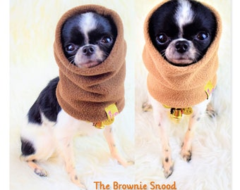 "PETiRO ""BROWNIE"" fleece snood for dog 
