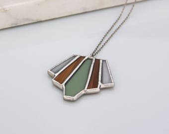 Stained Glass Pendant No. 1