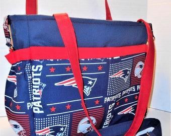New England Patriots Diaper Bag Tote, Patriots Baby Bag, Patriots Baby Gifts, Nursery, Patriots Shower Gifts, New England Patriots Nappy Bag