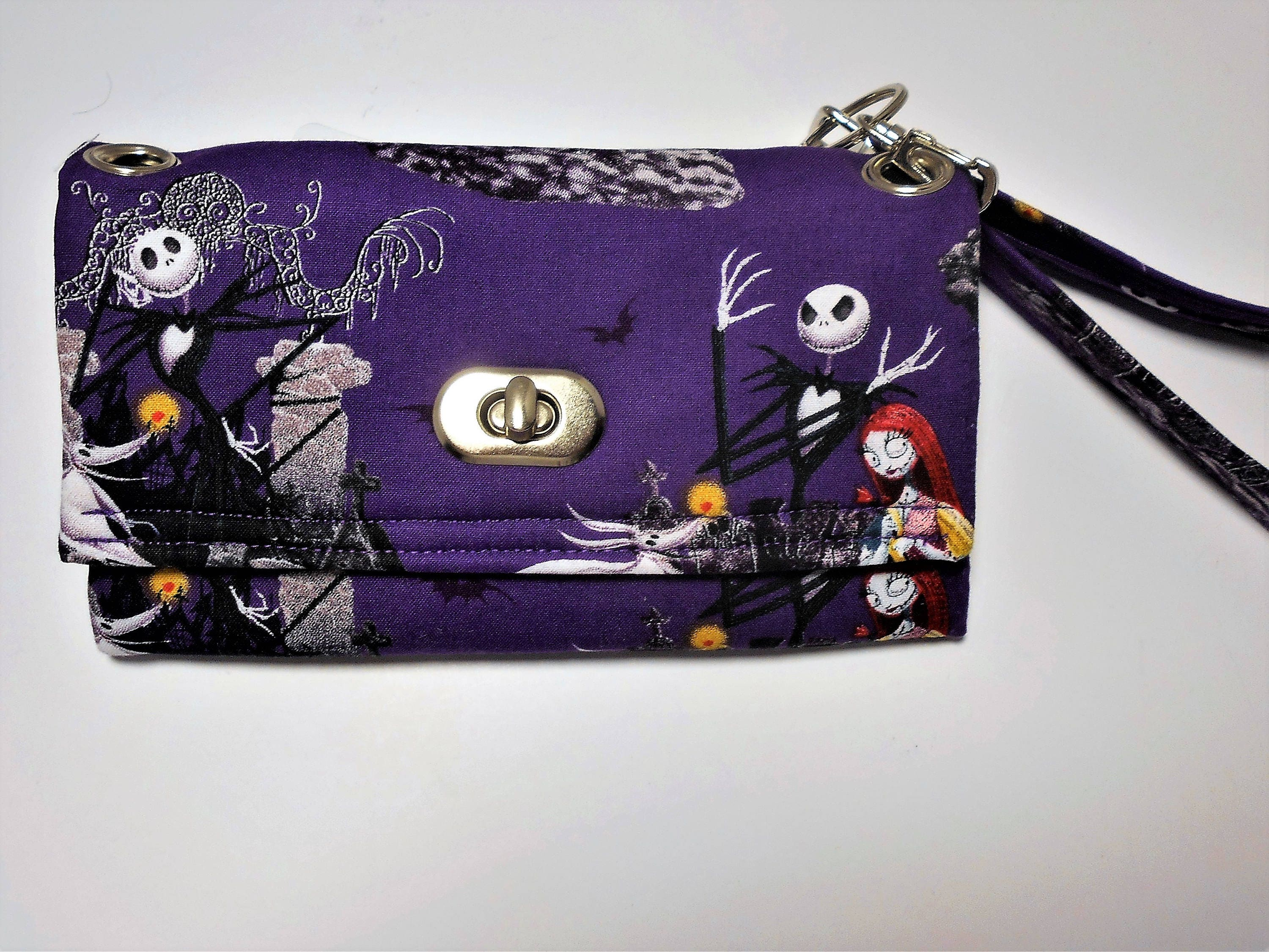 The Nightmare Before Christmas Wristlet Wallet Jack | Etsy