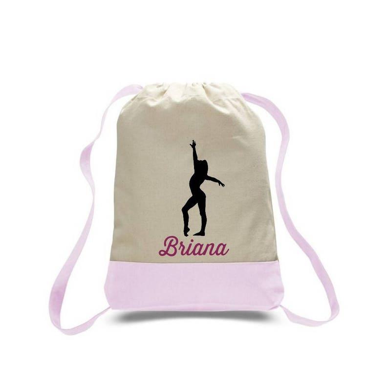 bd3f5c52b2e0 Gymnastics Gift Gymnastics Bag Gymnastics Drawstring Bag