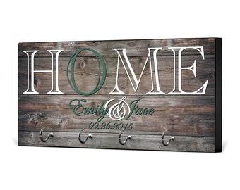 Key Holder for Wall, Wedding Gift, Gift for Her, Anniversary Gift, Housewarming Gift, New Home Gift, Key Holder, Closing Gift, KH02