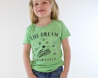 funny kids shirts. kids gift. kids tshirt. modern kids. kids t shirts. the dream is free. little girl clothes. kids clothing.