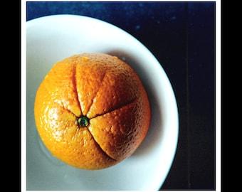 Orange 5x5 Photographic Print