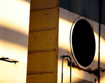 Rusty Train 2 5x5 Photograph