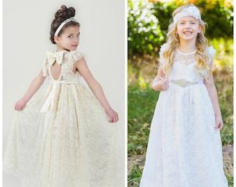 Lace Girls Dresses