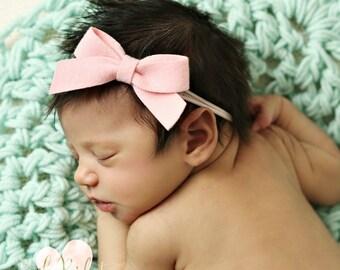 a554f8ac1d0 Pink baby headband