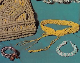 "1970s ""Charming"" Elegant Timeless Bohemian MACRAMÉ Choker Necklace - Instant PDF Digital Download PATTERN"