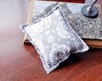 Herbal Pillow, Aromatherapy Desk Pillow, Herbal Desk Pillow, Scented Desk Pillow, Stocking Stuffer, Lavender Pillow
