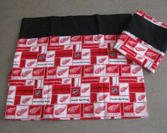 Red Wings pillowcase