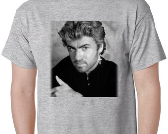 George Michael Faith, Choose Life T Shirt, George Michael Wham Band, Michael George Tshirts Tribute Tees George Michael I Want Your Sex