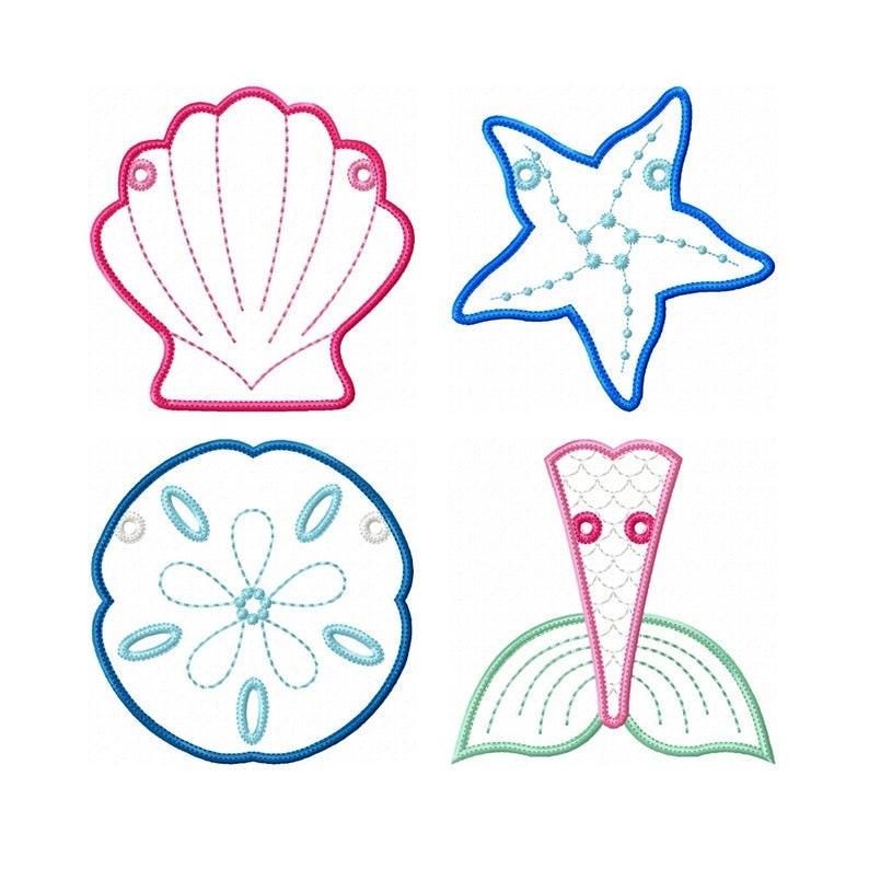 5  seaside banner  4 shapes