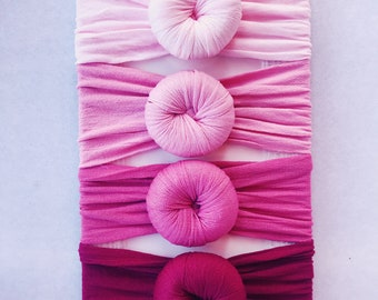 63c45143c935 Pink Gingham Ruffle Romper w  Matching Headband