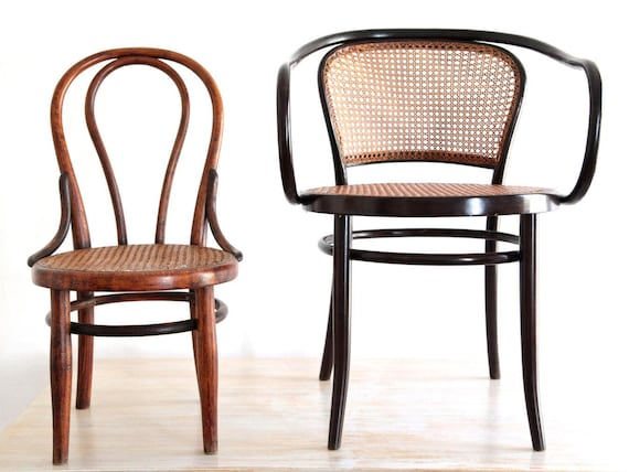 Stoel Voor Kind : Zeldzame originele thonet kind stoel wien oostenrijk met etsy