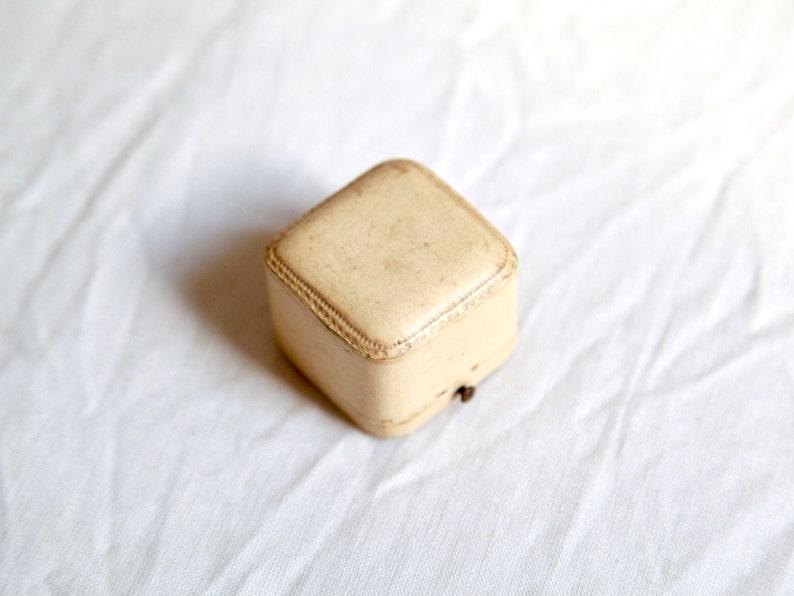 Wedding Ring Box Antique Ring Box Engagement Ring Box Blue Velvet Ring Box Vintage Ring Box FREE SHIP