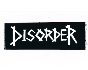 Disorder Punk Patch