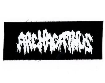 Archagathus Grindcore Band Patch