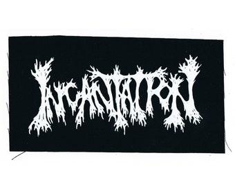 Incantation Band Patch