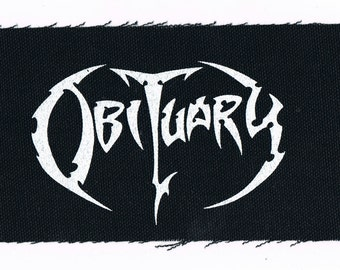 Obituary Death Metal Band Patch