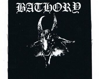 Bathory Black Metal Band Patch