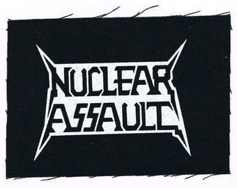 Nuclear Assault Band Patch