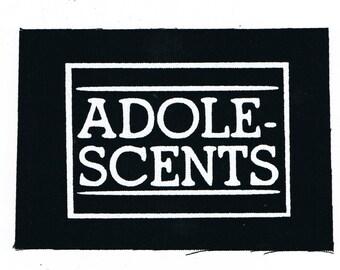 Adolescents Punk Patch