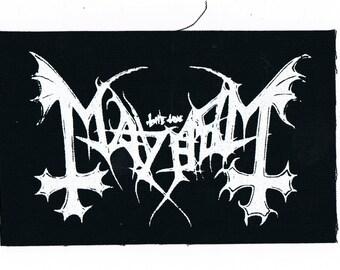 Mayhem Band Patch