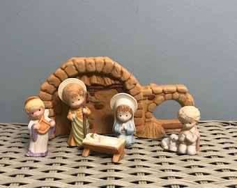 Hallmark Mary Hamilton/'s The Nativity Collection Rare Hard to Find 1981 to 1986 Complete Set15 Pieces Retired