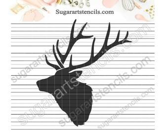 Elk Stencil Etsy