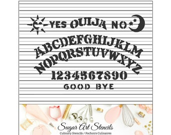 Halloween Cookie Stencil Ouija Board JN0058