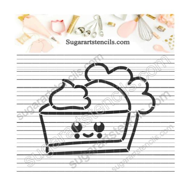 Essen Kuchen Pyo Cookie Schablone Malen Ihre Eigenen Av0094 Etsy