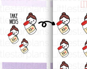 mimi take medication reminder medication tracker daily etsy
