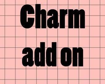Charm add on for deco cases