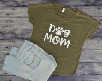 Dog Mom Shirt, Mom of Dogs Shirt, Dog Mama Shirt, Fur Mama Shirt, Custom Shirt, Fur Mom Shirt, Dog Lover Shirt, Paw Print Shirt