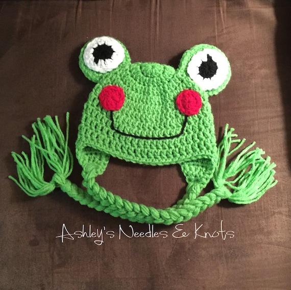 Frosch Hut häkeln | Etsy