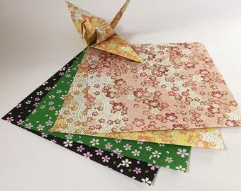Origami Papier - Japanisch Stylesheets Muster - 100 Blatt