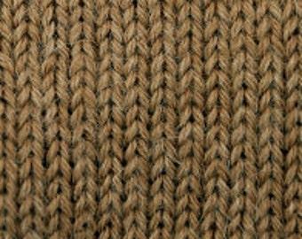 SALE! DK Weight Tan Alpaca Yarn (110 yards each) - Classic Baby Alpaca 0208 Tan Tweed - 100 Percent Baby Alpaca - Sale - Reduced 33%
